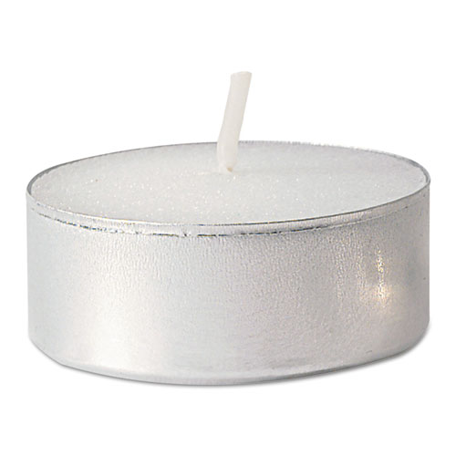 Tealight Candle, 5 Hour Burn, White, 500/Carton