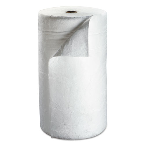 "3M™ High-Capacity Petroleum Sorbent Roll, 38"" x 144ft, 73gal Capacity"