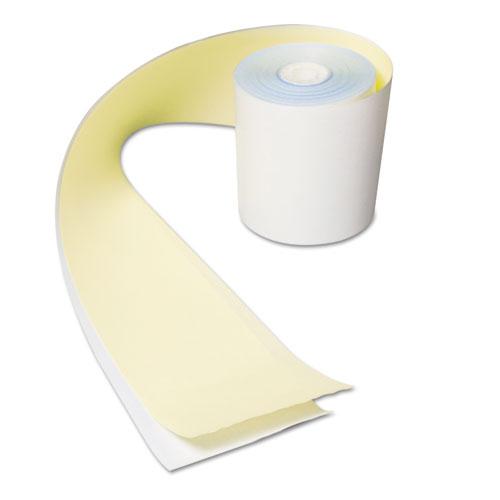 "AmerCareRoyal® No Carbon Register Rolls, 3"" x 90 ft, White/Yellow, 30/Carton"