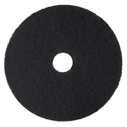 Low-Speed High Productivity Floor Pads 7300, 21 Diameter, Black, 5/Carton