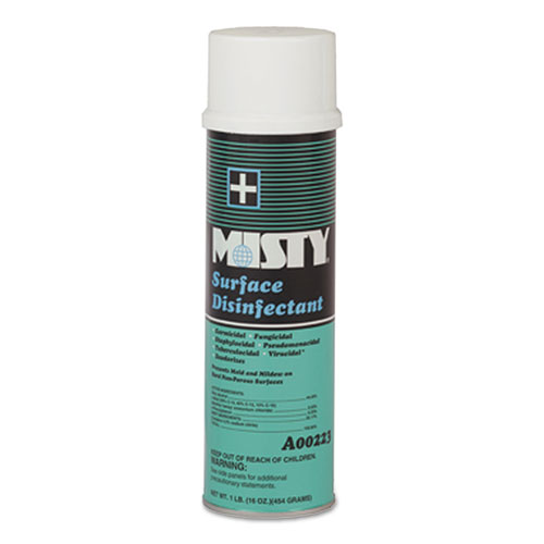 Misty® Surface Disinfectant, Fresh Scent, 20 oz. Aerosol Can