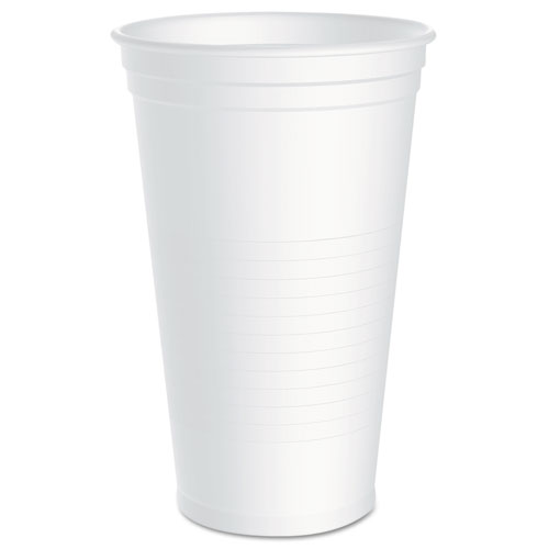 Conex Galaxy Polystyrene Plastic Cold Cups, 32 oz., 50/Bag, 10 Bags/Carton Y32