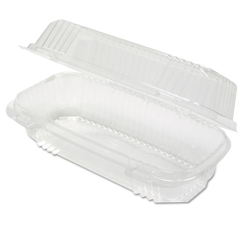 ClearView SmartLock Food Containers, 23 oz, 8.5 x 4 x 2.5, Clear, 250/Carton