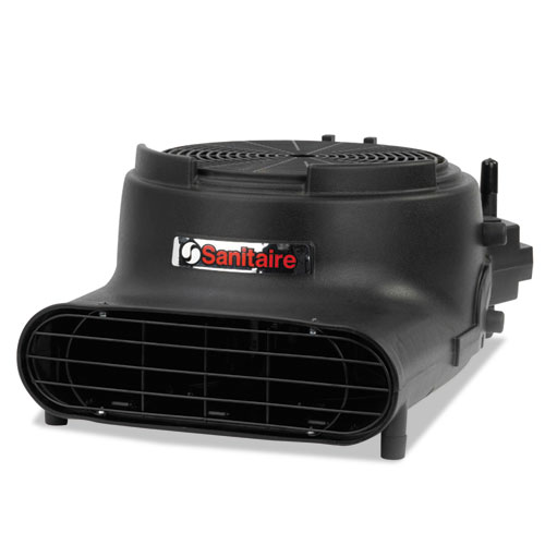 Sanitaire® DRY TIME Air Mover, Daisy Chain Capable, 3400 FPM, Black, 120 V