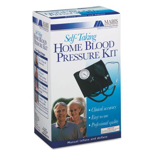 "Self-Taking Home Blood Pressure Kit, 22"" Stethoscope, Adult"