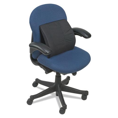Lumbar Cushion, 14w x 3.88d x 13h, Black