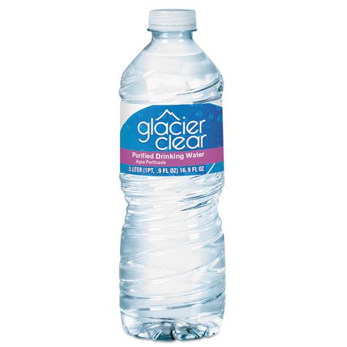 General Supply Purified Bottled Water, 0.5 L Bottle, 24/Carton