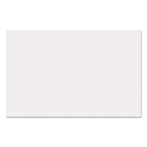 Straight Bath Mat, 14 x 21.25, White, 500/Carton