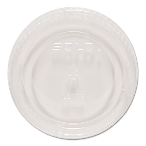 Snaptight Portion Cup Lids, 5.5 Cups, Clear, 100/Sleeve, 10 Sleeves/Carton LDSS5