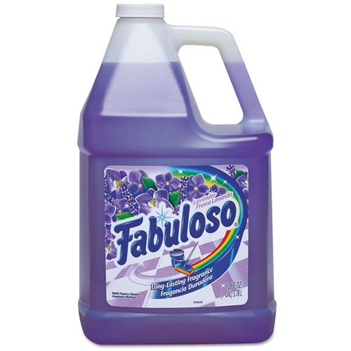 Fabuloso® Multi-use Cleaner, Lavender Scent, 1 gal Bottle, 4/Carton