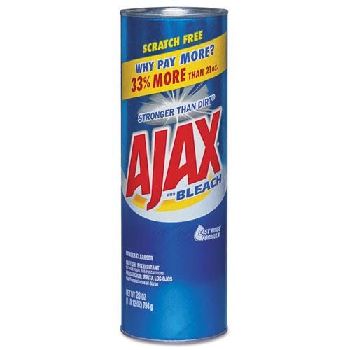Ajax® Powder Cleanser with Bleach, 28 oz Canister, 12/Carton