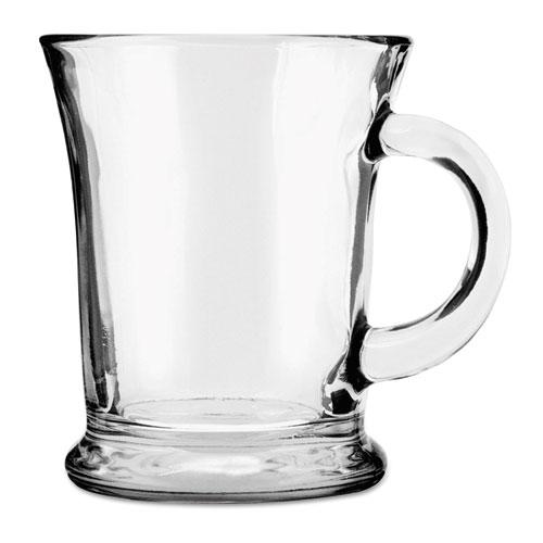Mocha Mug, 14 oz, Clear, 6/Carton 83037A