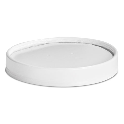 Vented Paper Lids, 16-32oz Cups, White, 25 Lids/Sleeve, 20 Sleeves/Carton 71871