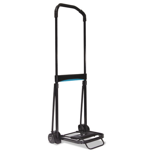 Ultra-Lite Folding Cart, 150 lb Capacity, 9.75 x 11 Platform, Black
