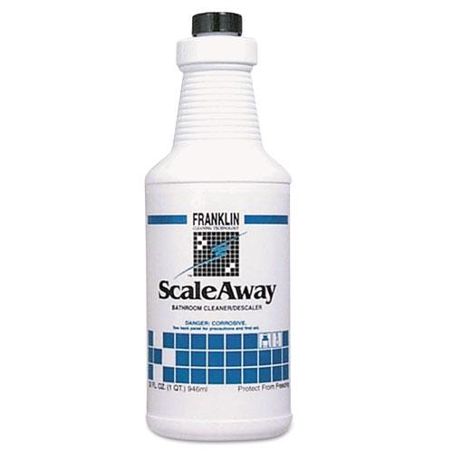Scaleaway Bathroom Cleaner, Floral Scent, 32 oz Bottle, 12/Carton
