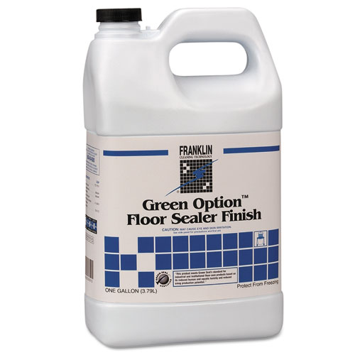 Green Option Floor Sealer/Finish, 1 gal Bottle, 4/Carton