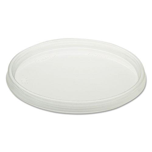 Non-Vented Cup Lids, Fits Foam Cups, Plastic, Clear, 500/Carton 32CLR