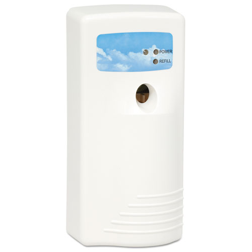 Stratus II Metered Aerosol Dispenser, , 5 x 3.75 x 8.5, White