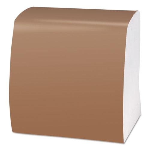 1/4-Fold Dinner Napkins, 1-Ply, 16 3/4 x 17, White, 250/Pack, 16/Carton