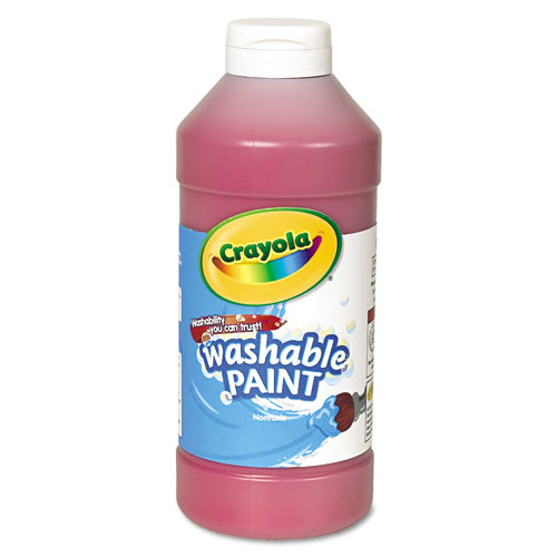 Crayola Washable Paint, Red, 16 Oz at Sears.com