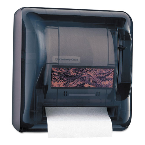 "Kimberly-Clark Professional* D2 Hard Roll Towel Dispenser, 17 1/2"" x 16"" x 10"", Smoke"