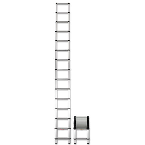 Telescopic Extension Ladder 18 Ft 300lb 14 Step