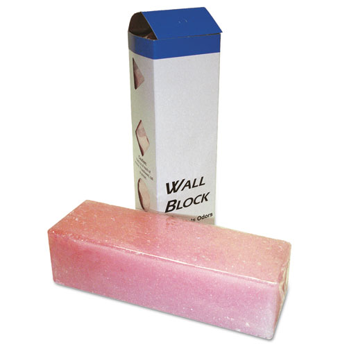 Deodorizing Para Wall Blocks, 2 4 oz, Pink, Cherry, 6/Box