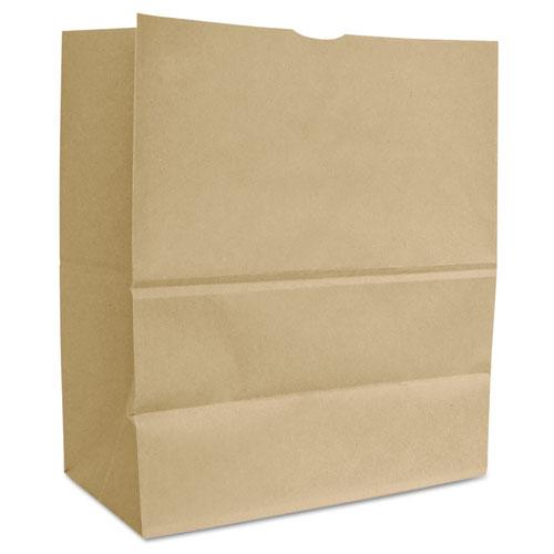 Grocery Paper Bags, 66 lbs Capacity, 1/6 BBL, 12w x 7d x 17h, Kraft, 500 Bags