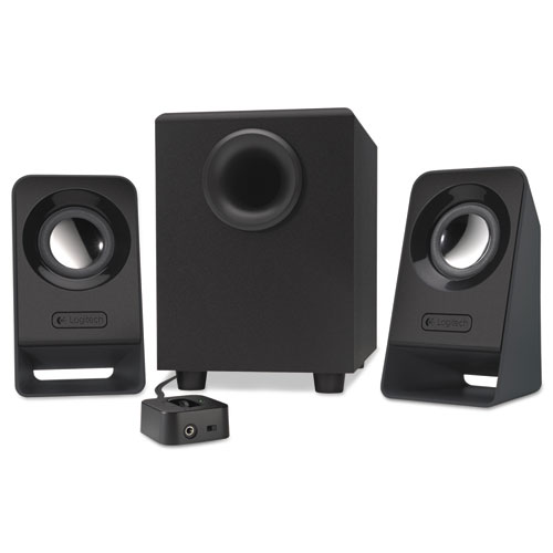 Z213 Multimedia Speakers, Black | by Plexsupply