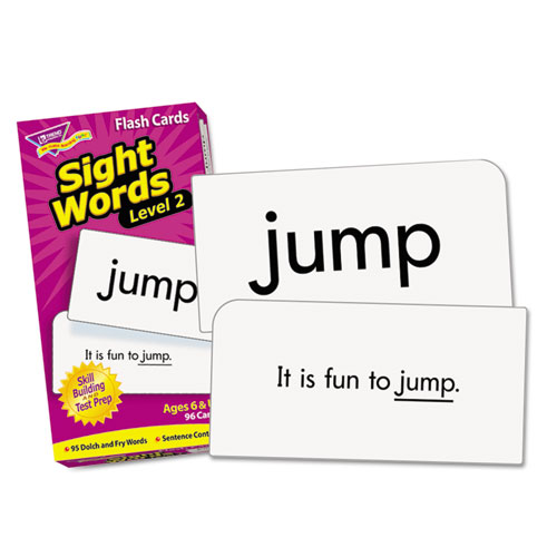 Skill Drill Flash Cards, 3 x 6, Sight Words Set 2 | by Plexsupply