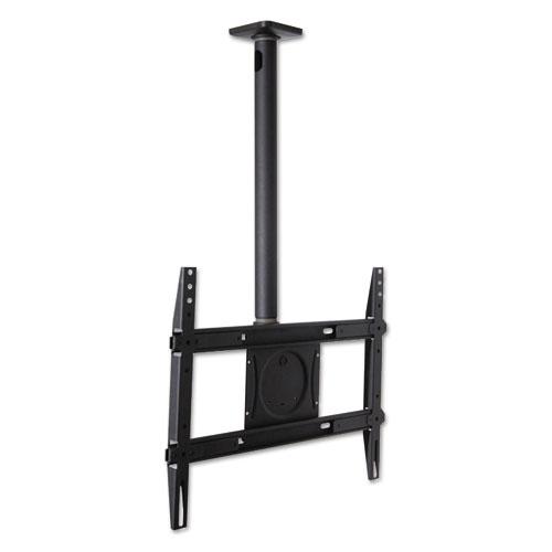 Ergotron® Neo-Flex Ceiling Mount, 125 lb Weight Capacity, Black