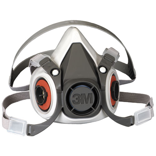 Half Facepiece Respirator 6000 Series, Reusable, Medium 07025