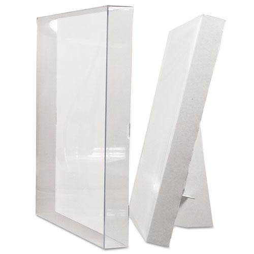 Un-Frame Box Photo Frame, Plastic, 8-1/2 x 11, Clear - NuLeaf Office ...