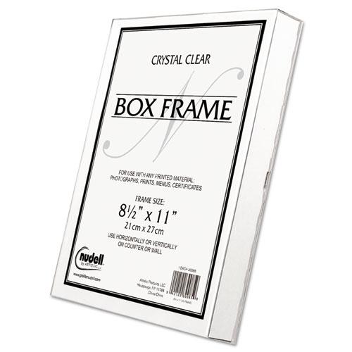 Superwarehouse - Un-Frame Box Photo Frame, Plastic, 8-1/2 x 11 ...