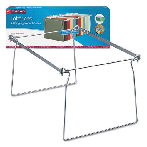 Hanging Folder Frame Letter Size 23 27 Quot Long Steel 2 Pack Thegreenoffice Com