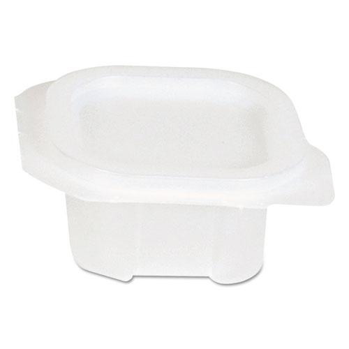 Liddles Portion Cups w/Attached Lids, 2oz, Clear, Plastic, 450/Bag, 2 Bags/CT 87242