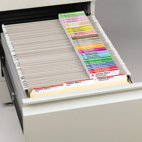 Viewables Hanging Folder Tabs And Labels Refill 3 1 2