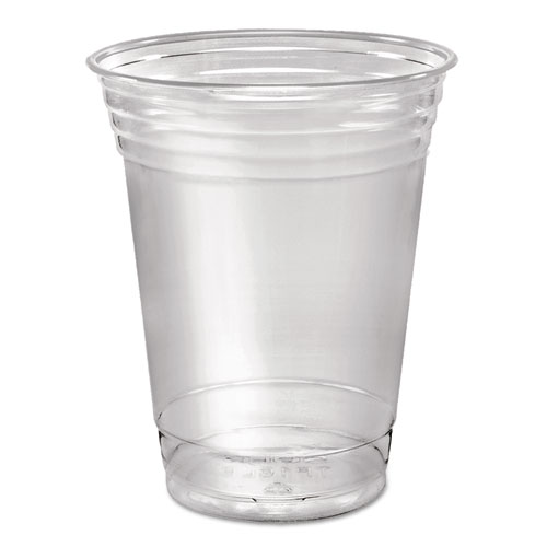 Ultra Clear Cups, Squat, 16 oz, PET, 50/Pack | by Plexsupply