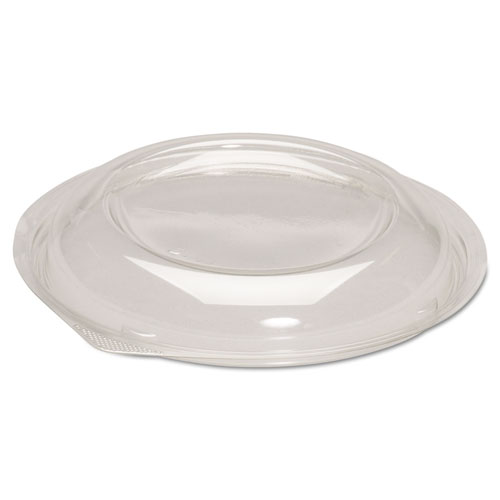 Dome Lids for Silhouette Plastic Bowls, Clear, For 24-32oz Bowls, 200/Ct | by Plexsupply