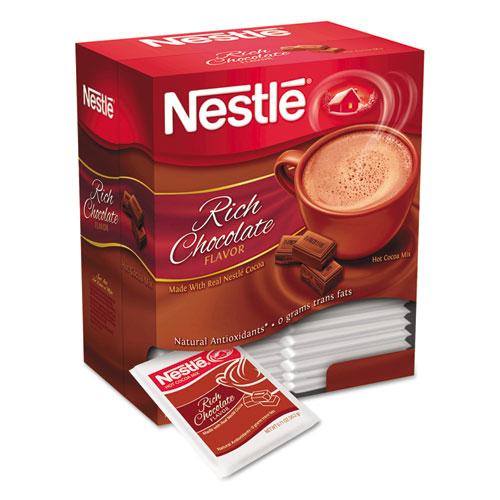 Nestlé® Hot Cocoa Mix, Rich Chocolate, .71oz, 50/Box