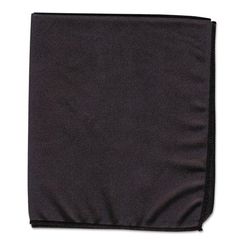 Dry Erase Cloth, Black, 12 x 14 | by Plexsupply