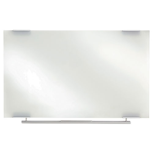 Clarity Glass Dry Erase Boards, Frameless, 72 x 36 | by Plexsupply