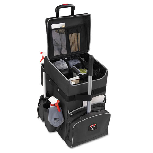 Executive Quick Cart, Large, 14.25w x 16.5d x 25h, Dark Gray