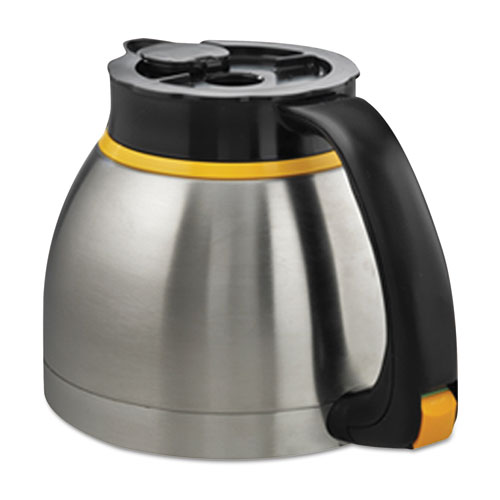 Keurig® Bolt Thermal Carafe, 64 oz, Silver/Black, 2/Carton