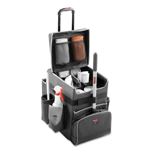 Executive Quick Cart, Small, 14.25w x 16.5d x 17h, Dark Gray