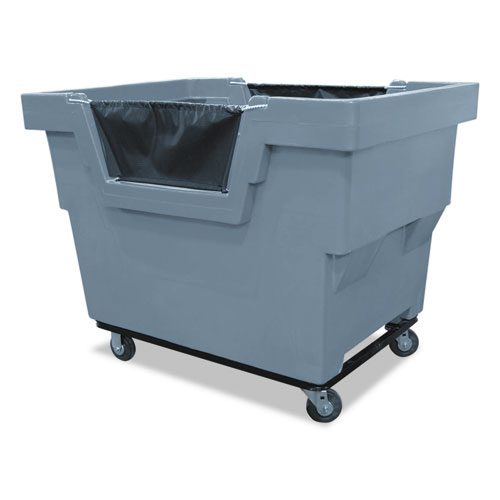 Mail Truck, Recycle, 31 3/4 x 48 x 37, 1,000 lbs. Capacity, Gray
