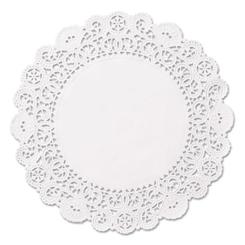 "Brooklace Lace Doilies, Round, 5"", White, 2000/Carton 