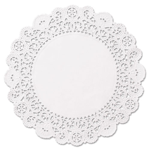 "Brooklace Lace Doilies, Round, 6"", White, 2000/Carton 