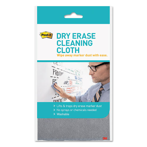 Dry Erase Cleaning Cloth, 10.63 x 10.63