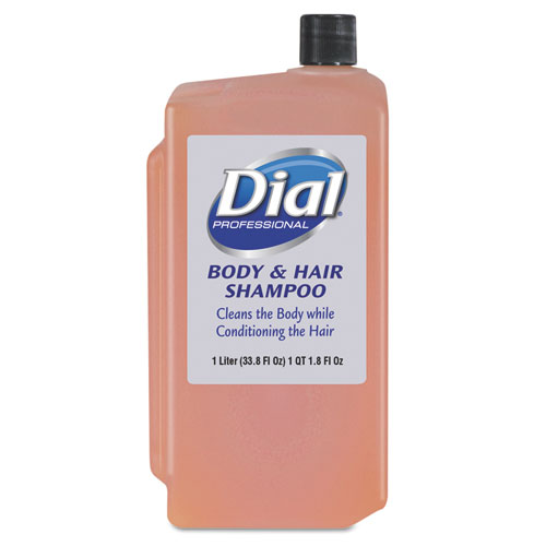 Body  Hair Care, Peach, 1 L Refill Cartridge, 8/Carton
